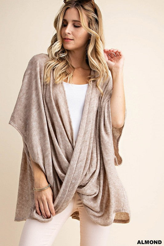 Oversized Wrap Sweater
