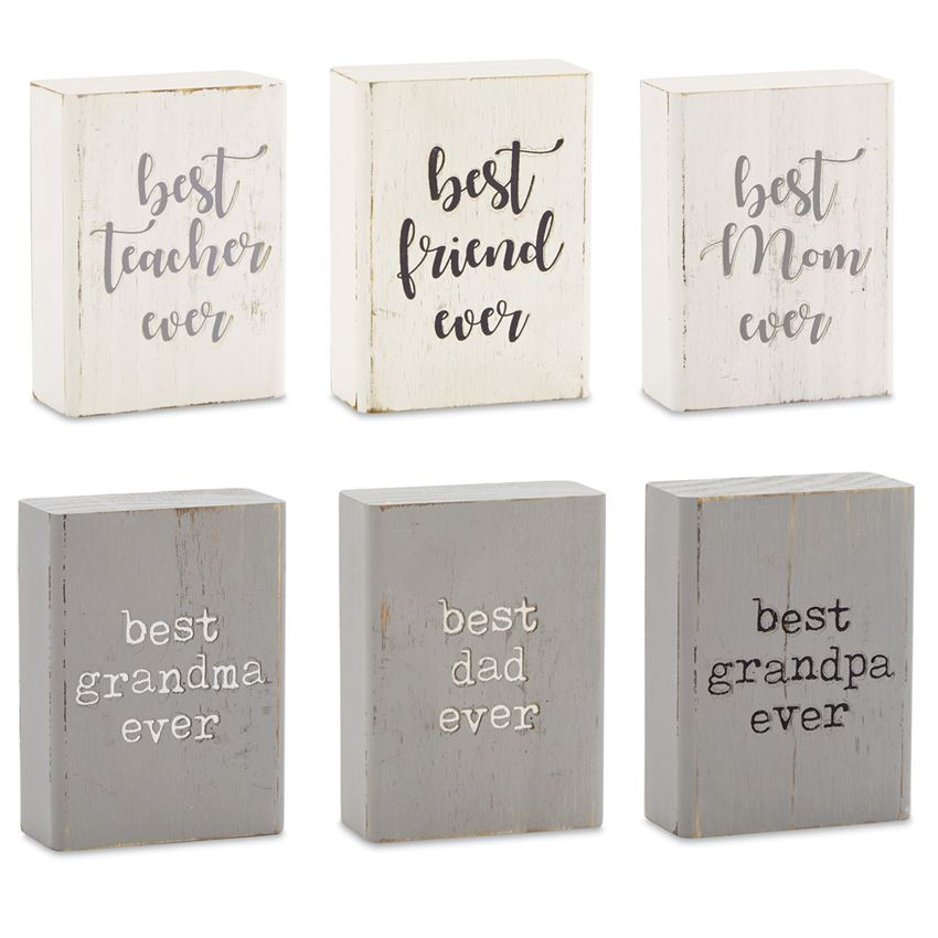 Best Ever Engraved Block Plaques