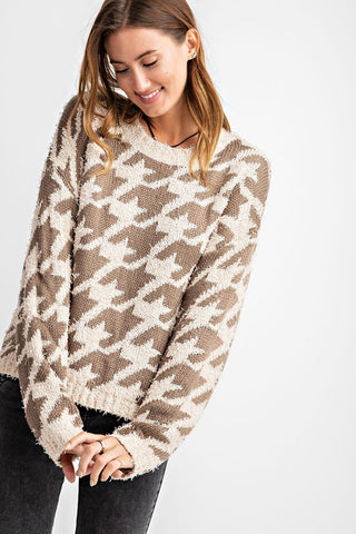 Shooting Star Cropped Pullover
