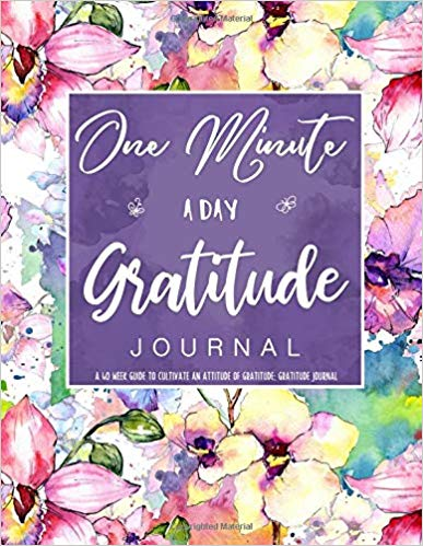 One Minute A Day Gratitude Journal