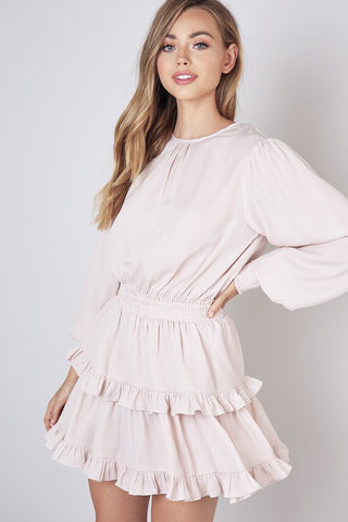 Ruffle Layer Dress