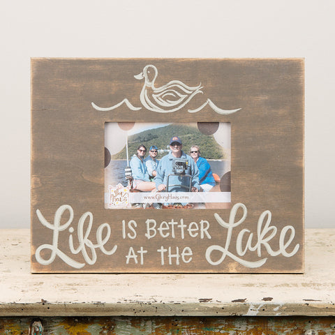Life Is Better At The Lake Frame