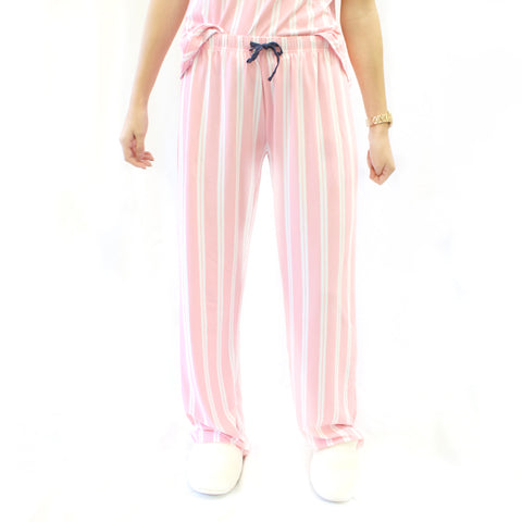 Sleep Pants in Pink Stripe