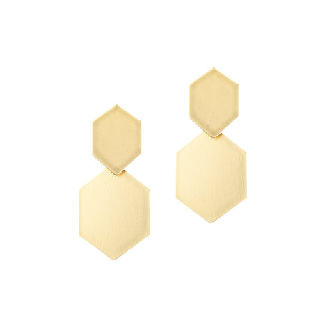 Strasburg Gold Earrings