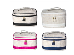 Linen Train Case (4 colors)