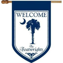 Personalized House Flags (Click for more options)