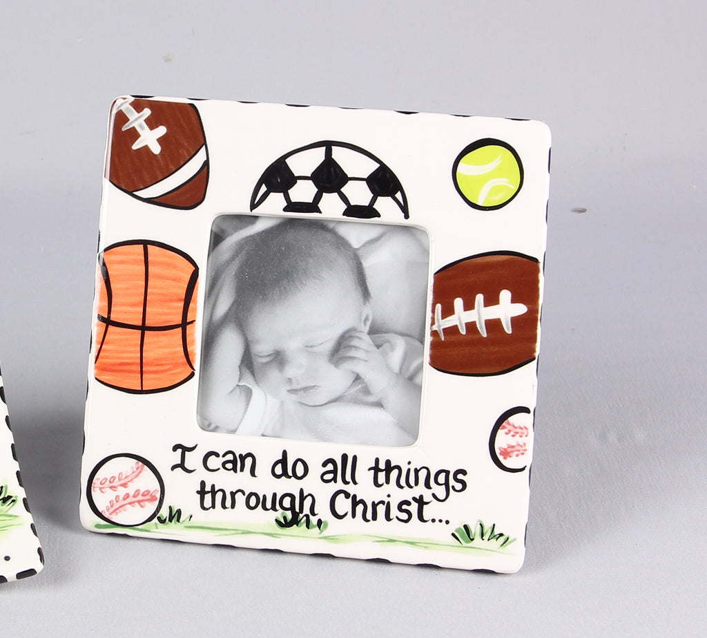 Ceramic Frame - I Can Do All Things through Christ