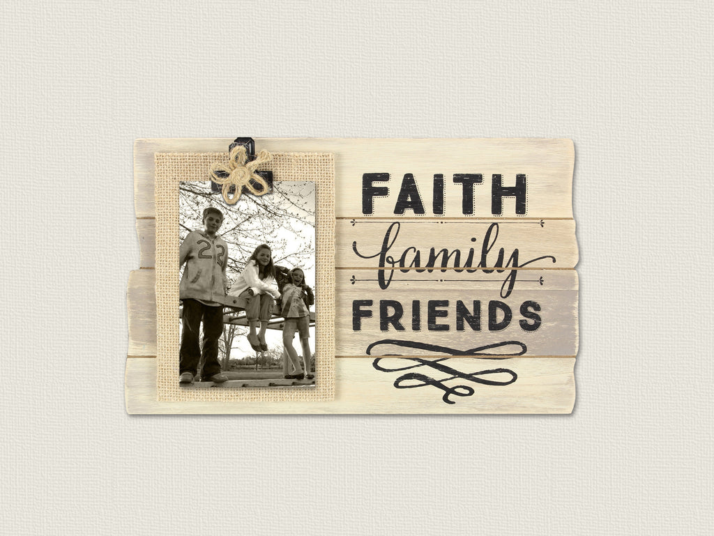 Faith Family Friends Clip Frame