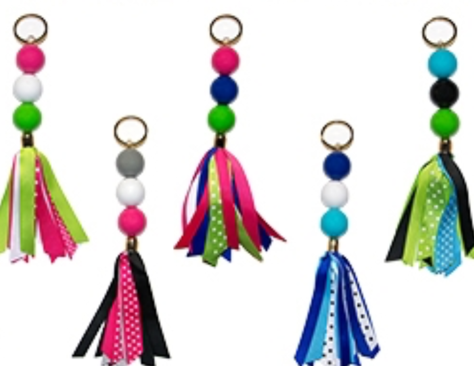 Ribbon Keychain (4 Colors)