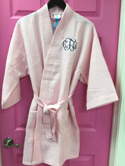 Knee Length Waffle Robe (many colors)