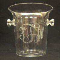 Ice Bucket with Knobbed Handles