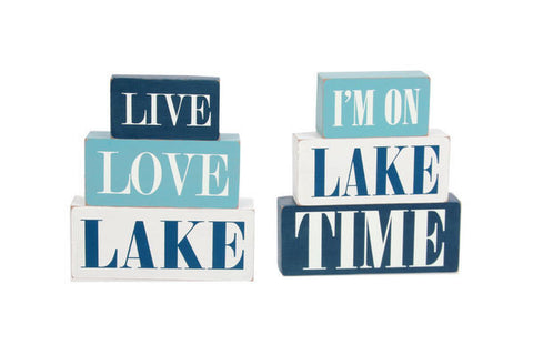 Lake Box Signs