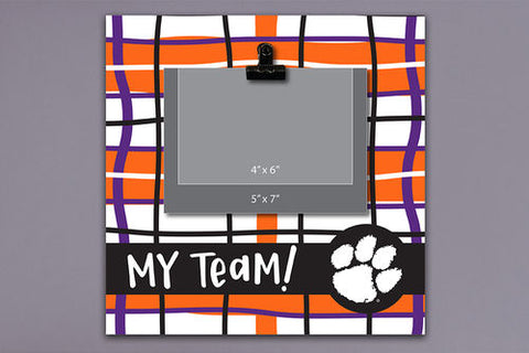 "Clemson ""My Team"" Frame"
