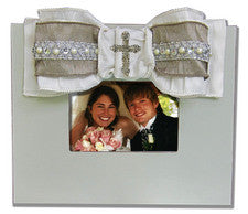 Wedding Frame with Cross