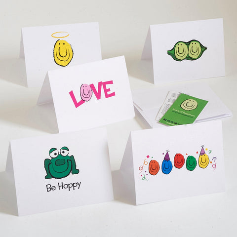 Seeds of Happiness Notecards