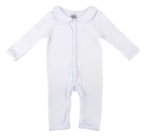 White Stitch Onesie