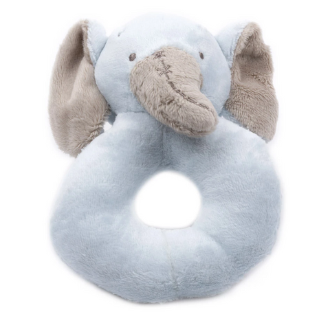 Plush Rattle (Multiple Styles)