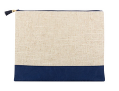 Linen Catch-All Pouch