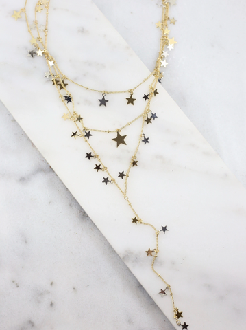 Multi-Layer Star Necklace