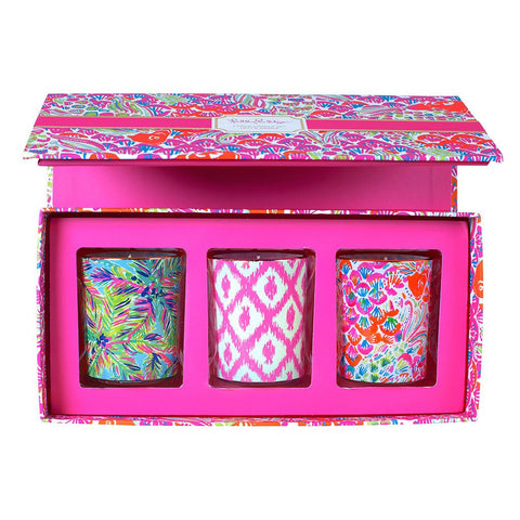 3 Piece Candle Set  So Juicy / Lilly's Jungle