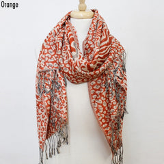 Animal Print Pashmina Scarf (multiple colors)
