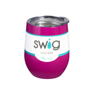 Swig Wine Cup 9 oz (Many Colors)