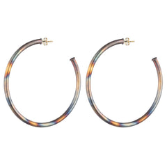 Medium My Favorite Hoops - multiple finishes