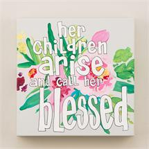 Her Children Arise Canvas