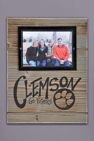Wood Clemson Wall Frame
