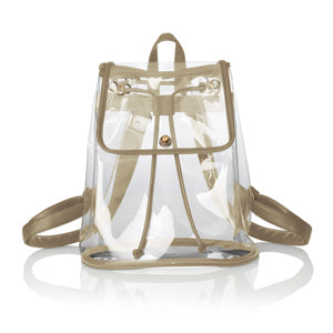 Clear Gold Backpack
