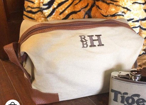 Dopp Kit Canvas