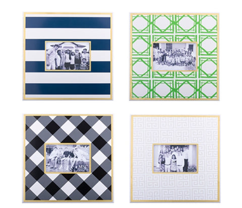 Patterned Picture Frames