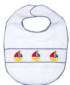 Smocked Bib  (Two options)
