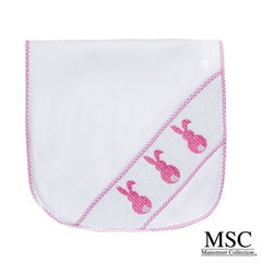 Smocked Burp Cloth (Two options)