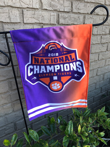 National Championship Garden Flag