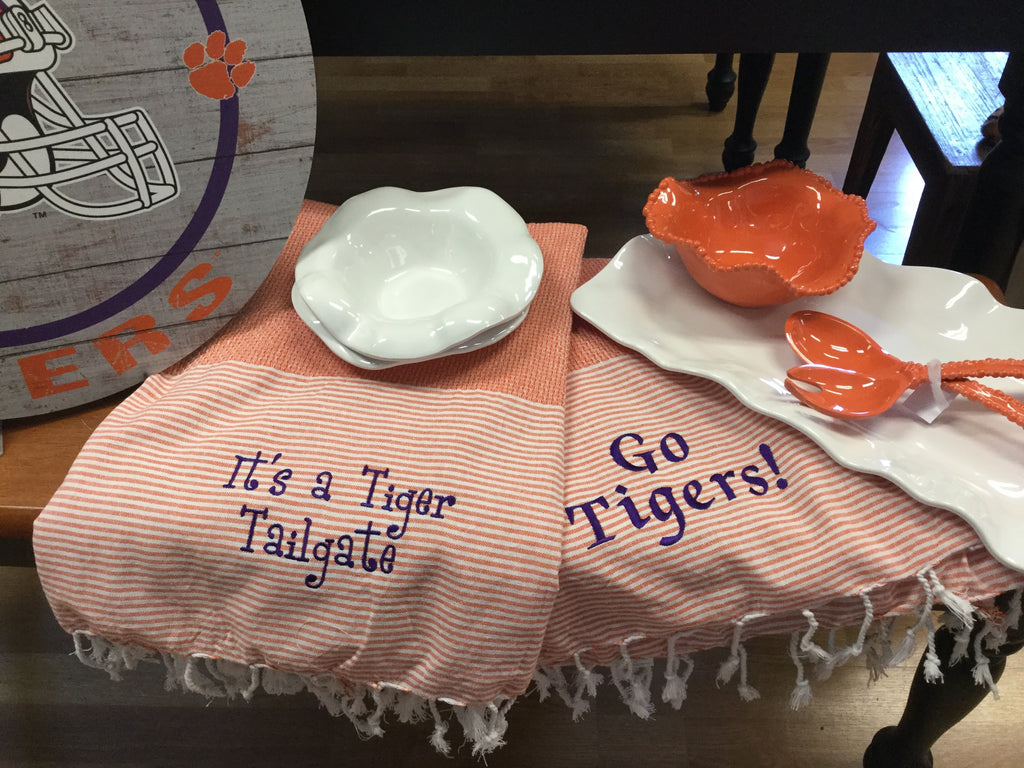 Lovely Clemson Cloth (Two Options)