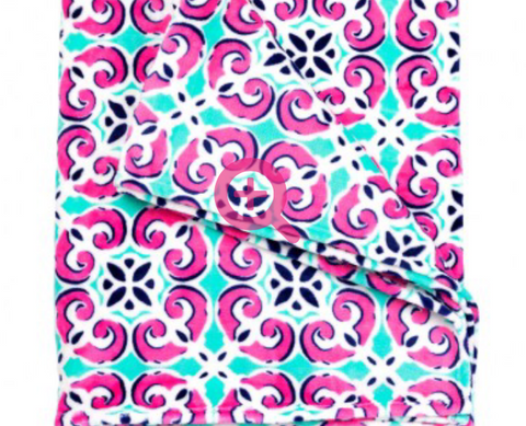 Fleece Throw Blanket 50X80