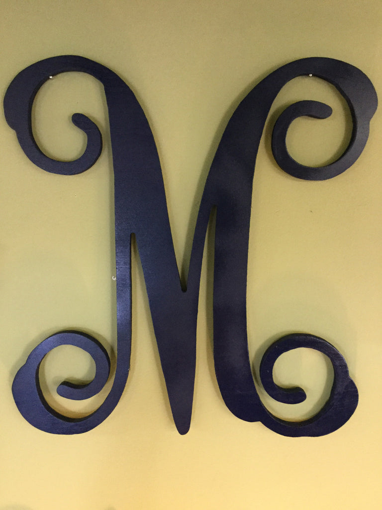 Wood Wall Monogram (Single Letter)