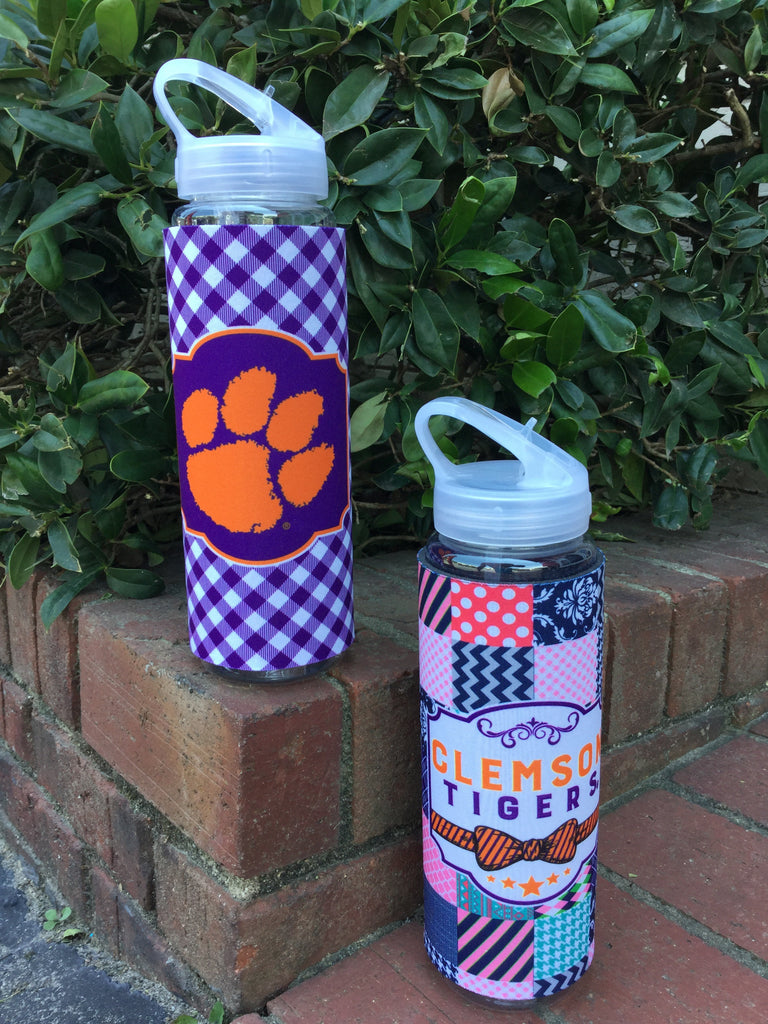 Tall Boy 32 oz Water Bottle with Coozie (Two Styles)