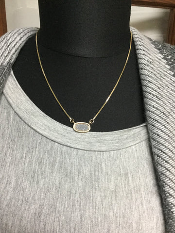 Dominican  Gray Necklace