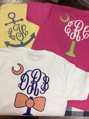 T Shirt with Monogram