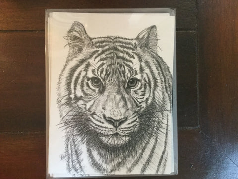 Charcoal Note Cards