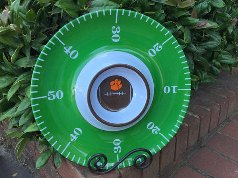 Clemson/Football Field chip n dip server