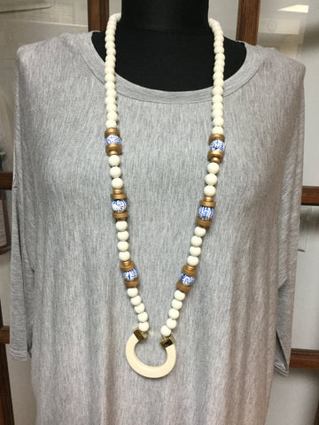 Carribean Ivory  Necklace
