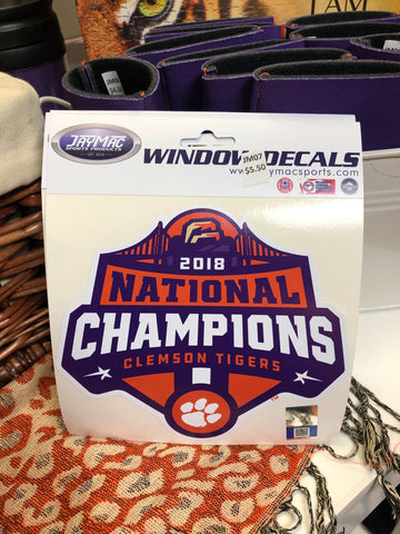 National Championship Vinyl Decal