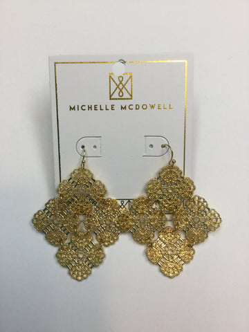 Barcelona Gold Earrings