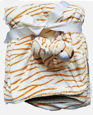 Baby Borrego Tiger Blanket