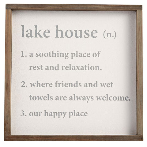 Lake House Definition Art
