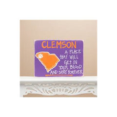 Clemson Map or Football Board