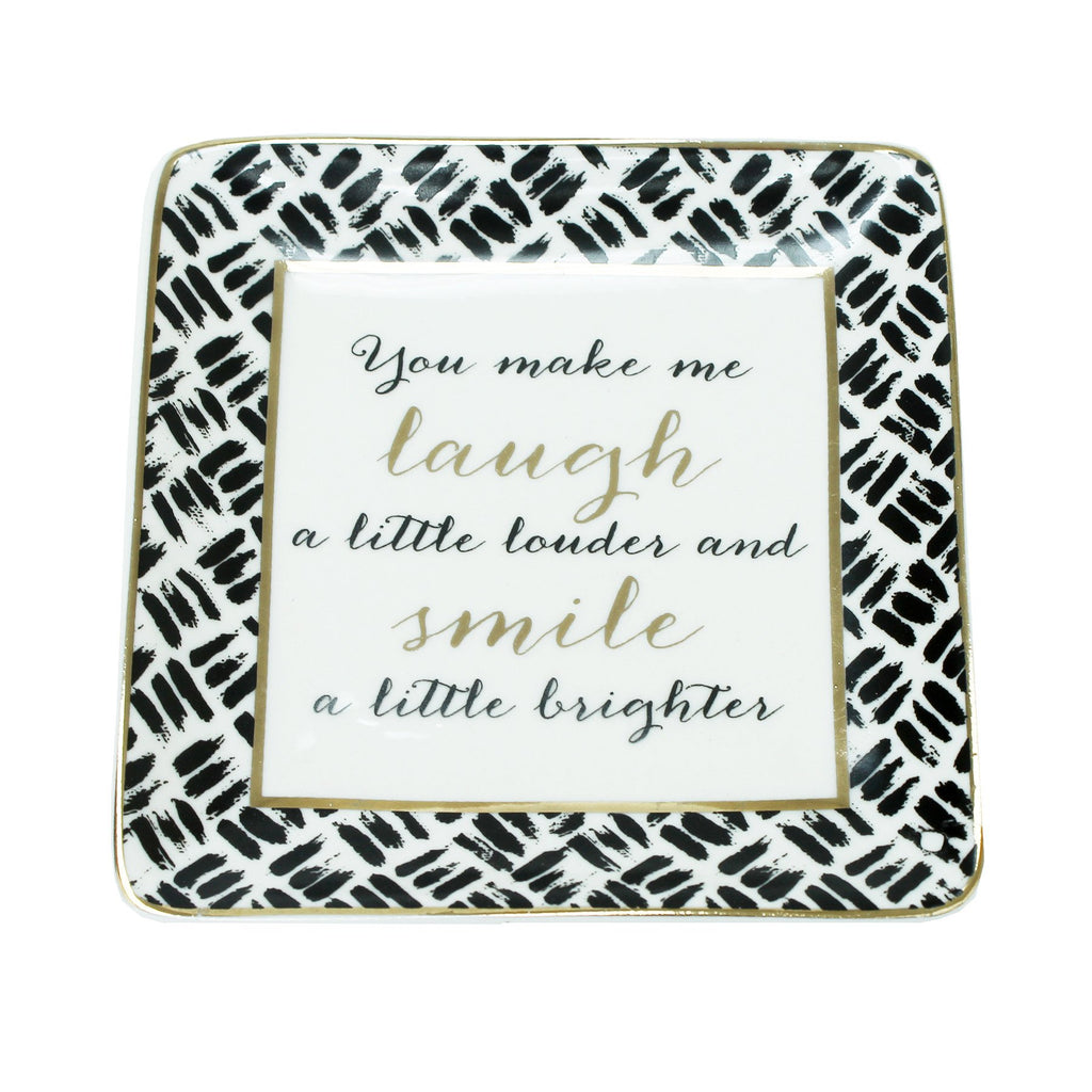 Jewelry Tray Laugh/Smile